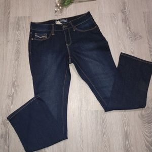 Women's size 8P Faded Glory stretch boot cut jeans